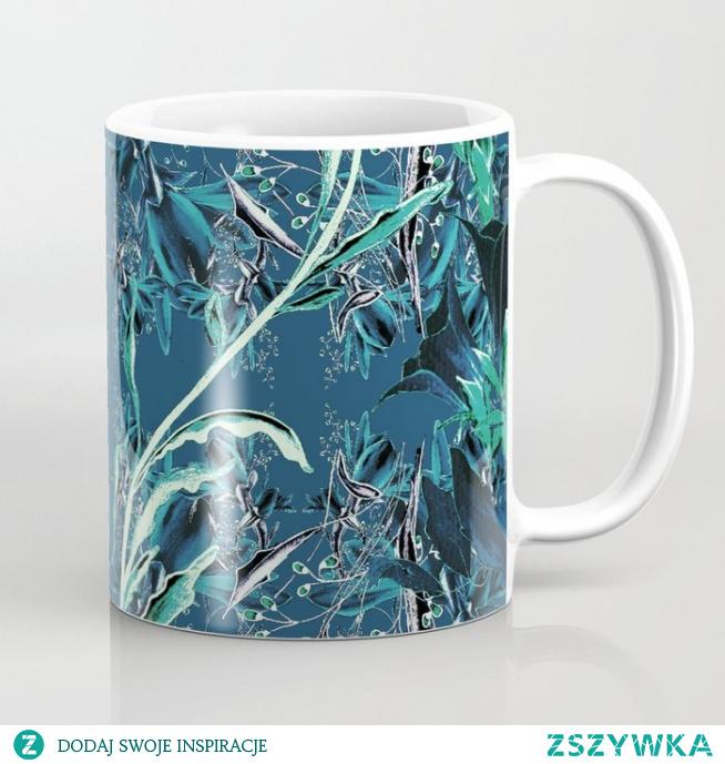 Kubek ze wzorem - kwiat fantazja 3  Flower fantasy 1 Coffee Mug