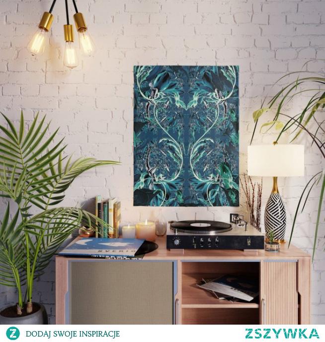 Plakat ze wzorem Kwiat fantazja 3  Flower fantasy 3 Poster