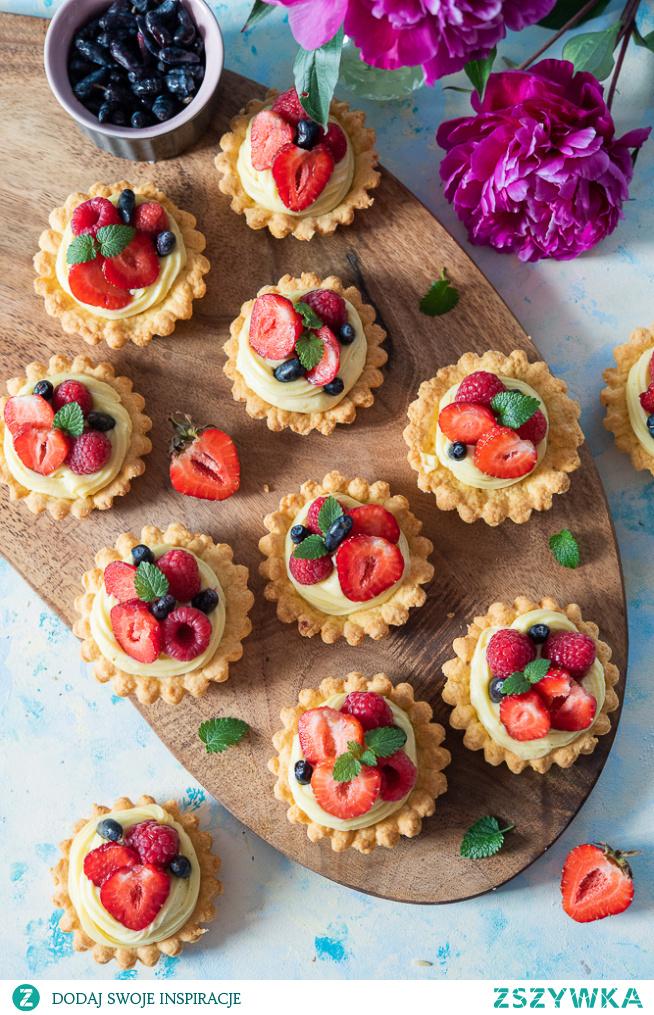 Obłędne Tartaletki z owocami!