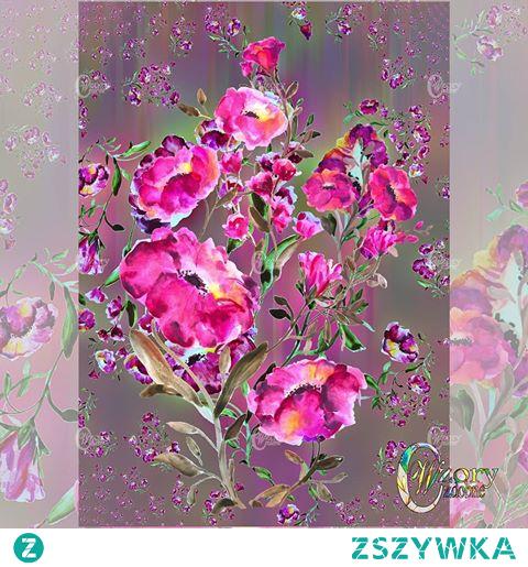 A#decorative#patternthat was created from a picture madepainted with watercolor paints.The first version is more expressive, the second version is more delicate. Depending on mood and usage you may like more one of version : - ). _____________________________________________  Wzór ozdobny, który powstał z obrazka wykonanego farbami akwarelowymi. Pierwsza wersja jest bardziej wyrazista, druga wersja jest delikatniejsza. W zależności od nastroju i sposobu użycia może się podobać bardziej jedna albo druga wersja :- ). ______________________________________________ #30flowersinmystyle#floralpainting#surfacepatterncommunity#patternobserver#printfloral  #gooddesignisforever#floralpatterns#patterndesigner#surfacepatterns#wzoryozdobne#makeitindesign#watercolordesign#colorfulartist#watercolordesign#drawing
