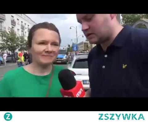 Ups! Nie wyszedł Mediom Narodowym wywiad na żywo (Marsz Równości, Białystok)