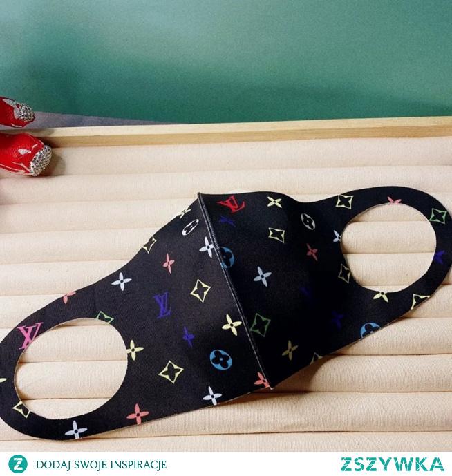 ヴィトン夏用マスク 3D立体 ひんやりマスクブランドコロナ対策