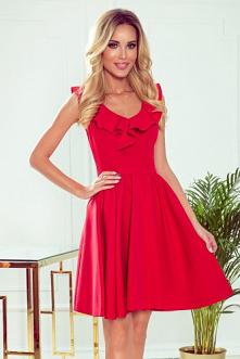 Czerwona sukienka koktajlow...