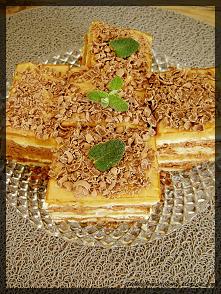Ciasto orzechowo-czekoladow...