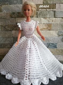 Ubranka dla Barbie. kreacje...