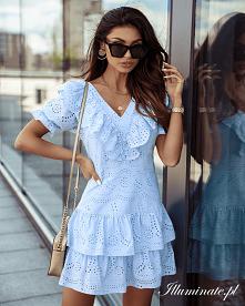 Ażurowa sukienka LORA baby ...