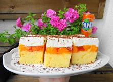 Fanta – styczne ciasto z mandarynkami. ciasto jest proste i mega smaczne, wyciągając je z piekarnika, zastanawiałam się czy zdąży ostygnąć i czy wytrwa do przekładania, zapach o...