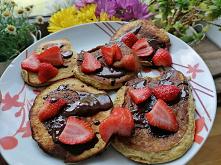 Proteinowe Pancake z czekol...