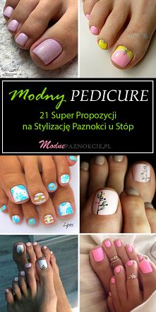 Modny Pedicure – 21 Super P...