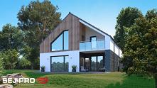 Projekt domu w stylu nowocz...