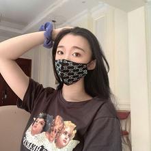 韓国で流行りのグッチ gucci 風マスクおしゃれ 通...