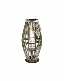 Piękny bambusowy lampion w ...