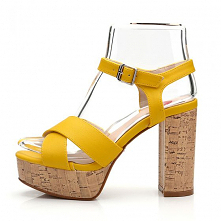 Moda Żółta Zużycie ulicy Sa...
