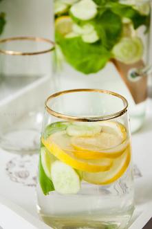 Lemoniada z ogórkiem, cytry...