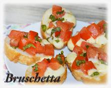 Bruschetta z pomidorami i b...