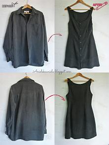 Szycie sukienki blog diy