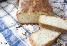 Domowy chleb pszenny. Przepis.
