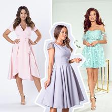 Sukienki weselne 2020 – pastelowe