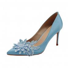 Eleganckie Niebieskie Na We...