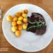 #dziczyzna #jedzenie duszony jeleń w sosie śliwkowym i krokiety ziemniaczane- wszystko domowe