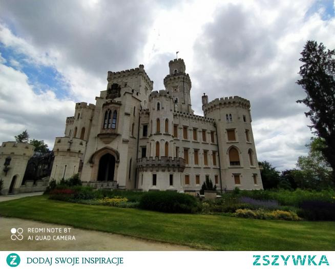 Hluboka nad Vltavou (Czechy) najładniejszy zamek jaki widziałam