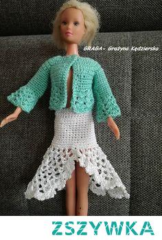 Barbie -Ubranka szydełkowe