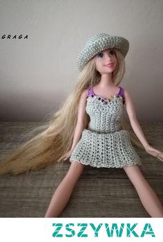sukienka letnia dla Barbie