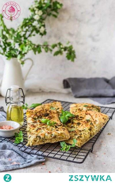 Ziołowa focaccia - Najlepsze przepisy | Blog kulinarny - Wypieki Beaty