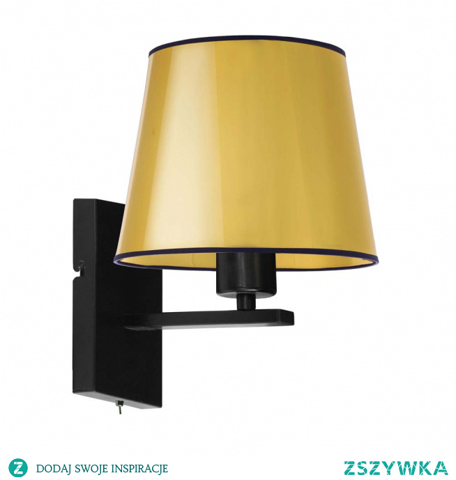 Kinkiet ścienny LIMA MIRROR to nie lada gratka dla wielbicieli funkcjonalności i designu w eleganckiej formie. Warto zwrócić uwagę na włącznik wbudowany bezpośrednio w korpus kinkietu, który zapewni komfort użytkowania. Takie rozwiązanie stawia Limę wśród czołówki tego typu modeli obecnie dostępnych na rynku. Kinkiet idealnie sprawdzi się jako oświetlenie na korytarz, lampa nad lustro czy też jako dodatkowe źródło światła do czytania. Wysokość kinkiety wynosi 25 cm, natomiast jego szerokość 23 cm.  Kinkiet dostępny jest w dwóch odcieniach abażura: złota i miedzi, oraz w czarnym kolorze stelaża.