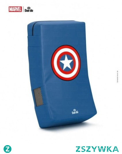 Kapitan ameryka tarcza - element wyposażenia sali sportowej do sztuk walki, który szczególnie spodoba się fanom Marvela!