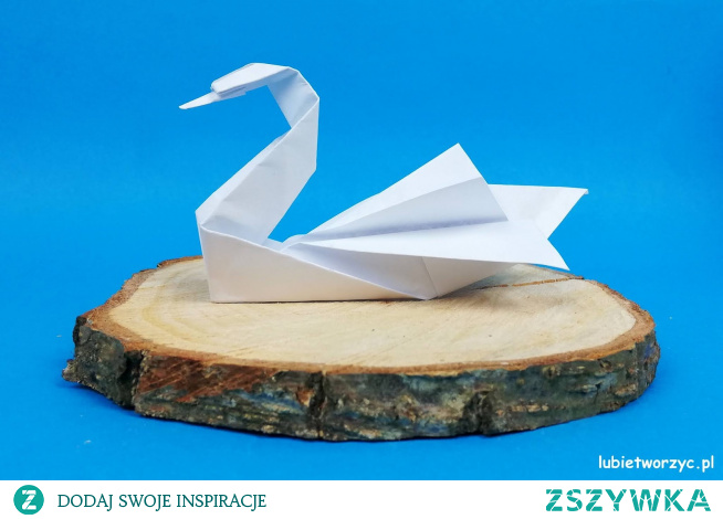 Tutorial ukazujący sposób wykonania pięknego łabędzia metodą origami :)