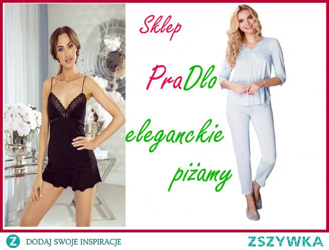 Eleganckie pizamy damskie do kupienia w Pradlo