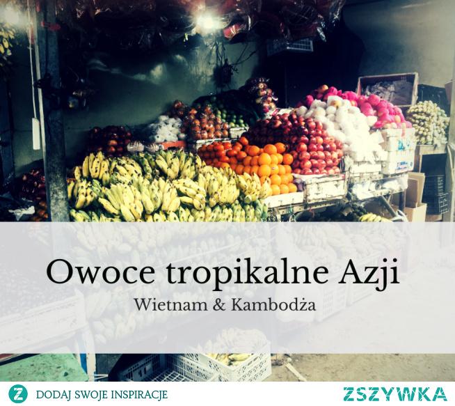 Owoce egzotyczna z Azji Południowo-Wschodniej