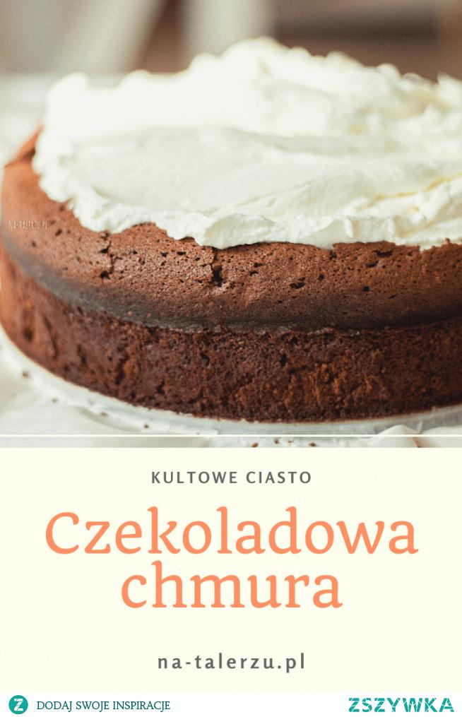 Czekoladowa chmura to wyjątkowe ciasto – totalnie czekoladowe, intensywne i przepyszne. A to wszystko bez ani grama mąki!
