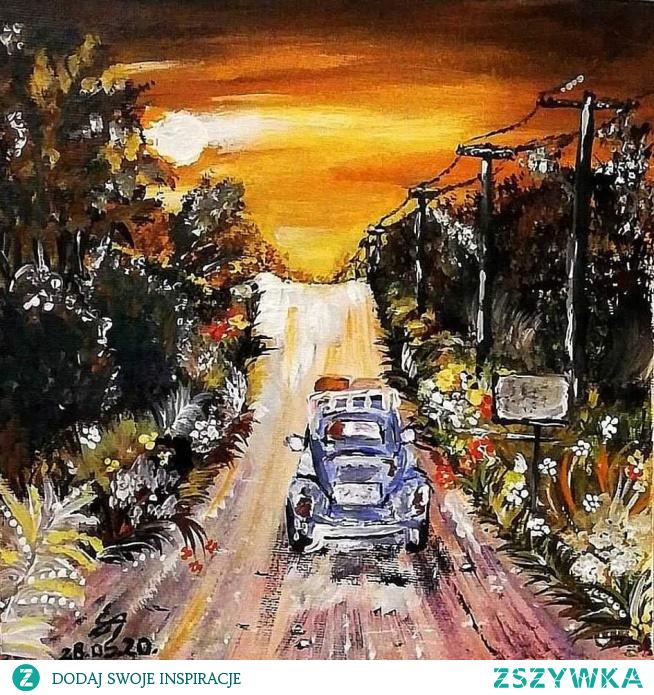 W drodze... #AvelineS #droga