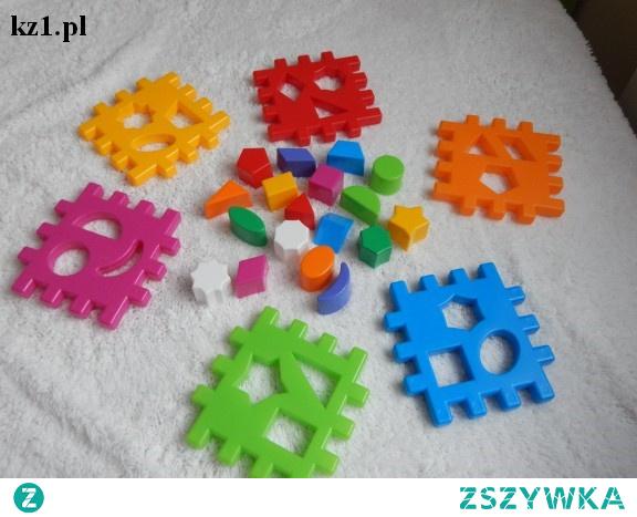 Kostka do sortowania - kostka kształtów