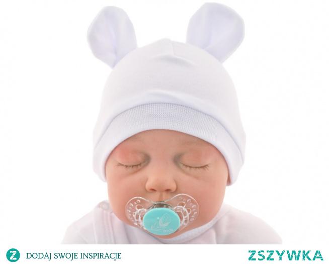 Biała smerfetka dla noworodka z oferty sklepu internetowego Robik Radom to uniwersalny produkt z miękkiego materiału. Sprawdź online!