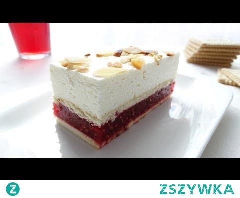 Malinowa słodycz. Nazwa mówi sama za siebie. Odrobina polskich słodkich, a jednocześnie kwaskowych malin, w otoczeniu pysznych herbatników maślanych. Ciasto na zimno zwieńczone puszystą warstwą bitej śmietany z serkiem mascarpone.