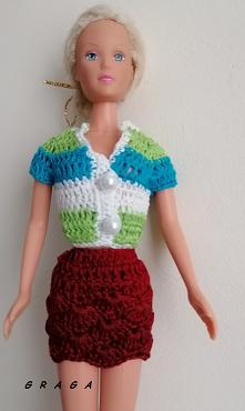 Komplecik dla Barbie