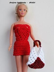 Maj 2020r -sukieneczka czerwona i torebka