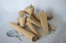 nogi meblowe drewniane