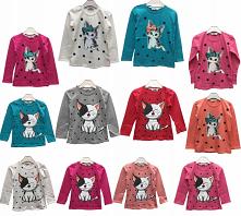 bluzeczki od 1-8 lat
