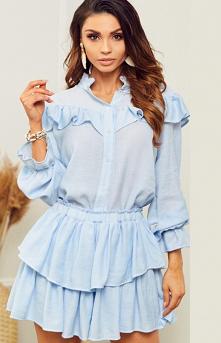 Lola Fashion Błękitny letni...
