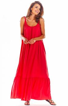 Awama Zwiewna sukienka letn...