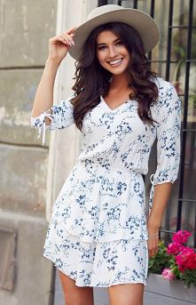 IVON Mini sukienka w kwiaty...