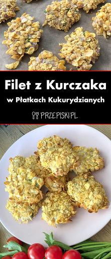 Filet z Kurczaka w Płatkach...