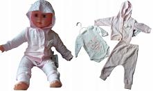 komplet-dres-noworodek-bluza- body-spodnie