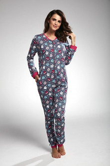 Piżama damska kombinezon w ...