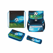 Tornister Herlitz LOOP PLUS - Soccer - zestaw