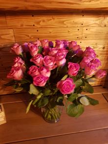 .... Bukiet róż